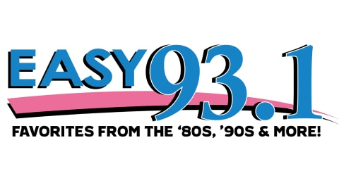 Easy 93.1 - Favorites from the 80s, 90s and MORE! Logo